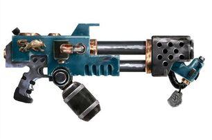 Arma lanzallamas lobos espaciales