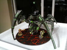 Necron Triarch Stalker front