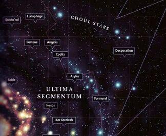 Mapa estrellas necrofago