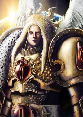 Sanguinius Ángeles Sangrientos Warhammer 40k Primarca Wikihammer