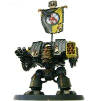 Escorpiones Rojos Dreadnought Venerable Mark IV Marines Espaciales Astartes Forgeworld Wikihammer