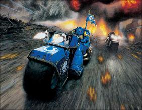 Motocicletas ultramarines