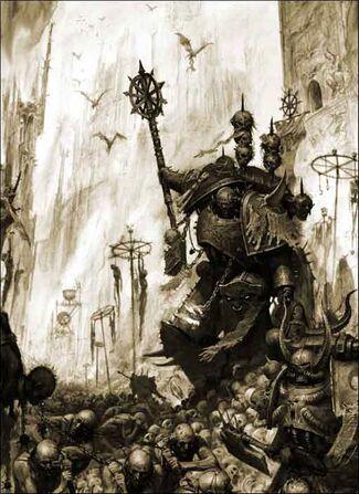 Caos portadores palabra Sicarus mundo demoniaco
