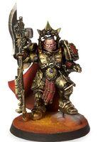 Capitán Escudo Legio Custodes Forge World miniatura