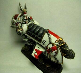 Cicatrices Blancas Moto herejía warhammer 40k wikihammer