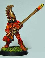 Exarca Dragones Llameantes pica ígnea 1ª Edición miniatura