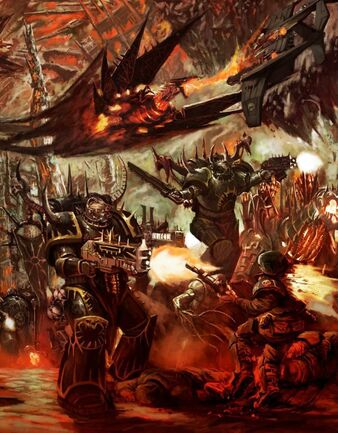 Marines del caos legion negra