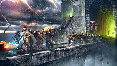 Marines puños imperiales salida de fortaleza 02