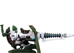 Arma eldar Vibro Cañon