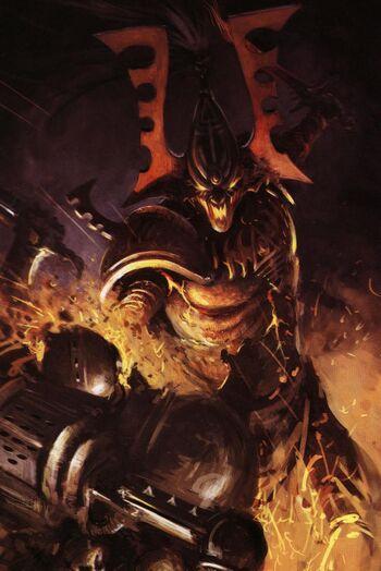 Avatar Eldar Khaine Guerrero Hierro Warhammer 40k Wikihammer