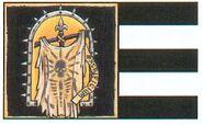 Estandarte Sudario de Plata Adepta Sororitas 2ª Edición ilustración