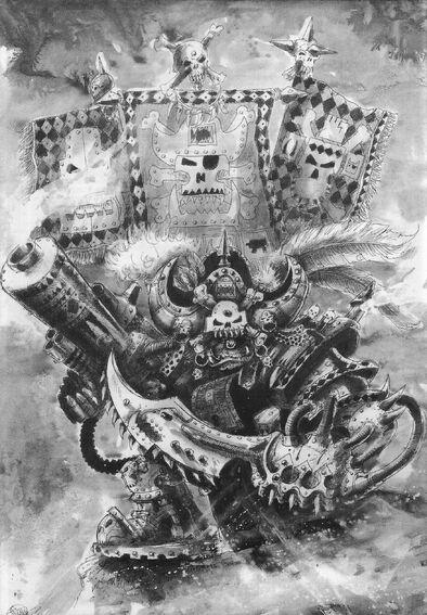 Kapitán Korzario Badrukk por John Blanche
