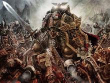 Mariscal Templarios Negros vs Berserkers de Khorne