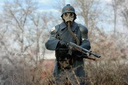 Cosply soldado de krieg