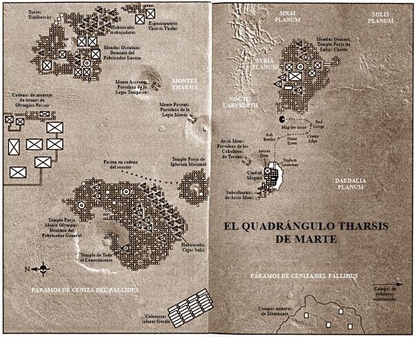 Marte mapa tharsis