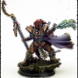 Caballero Escarabajo Kabuki miniatura