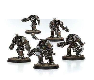 Exterminadores Gorgona Legión Manos de Hierro