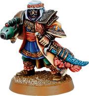 Miniatura guardia imperial tallarn Alrahem