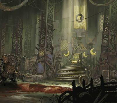 Orkos trono kaudillo luna malvada