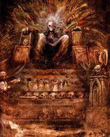 El Emperador en el Trono Dorado