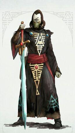 Eldars brujo espada bruja