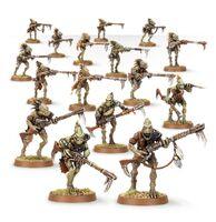 Escuadra Carnívora Kroot Tau 3ª Edición miniaturas