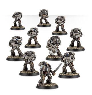 Escuadra Táctica Veterana Mk. IV Maximus Legión Manos de Hierro
