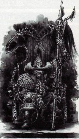 Guardia imperial Mogul kalmir