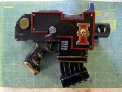 Cosplay pistola bolter