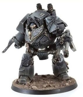 Dreadnought Contemptor Guardia del Cuervo