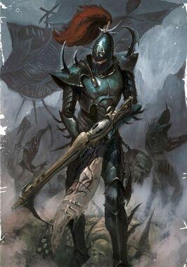Eldar oscuro guerrero de la cabala