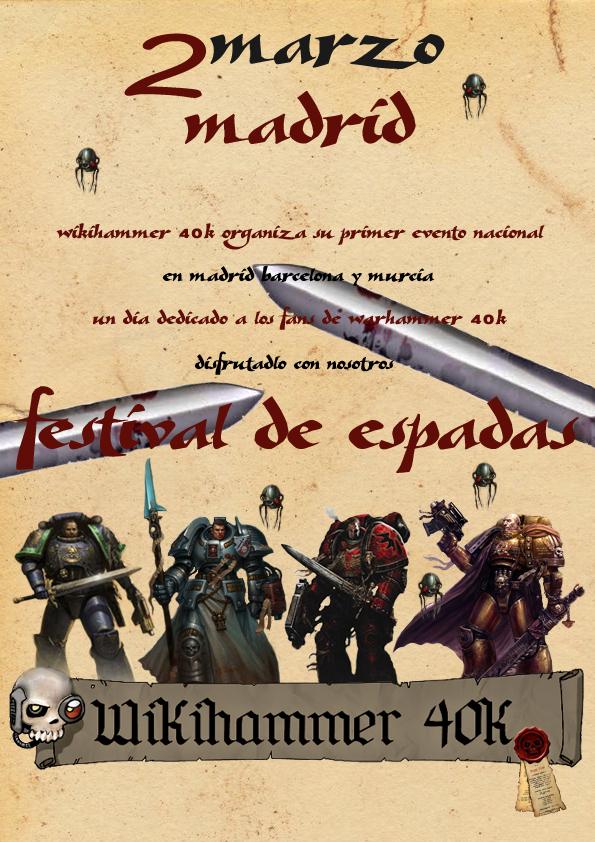Festival de Espadas Círculo de Terra Wikihammer 40k Torneo Warhammer Games Day 2013