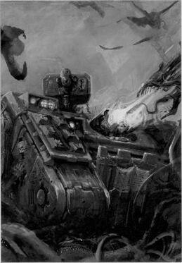 Land raider Caballeros Grises