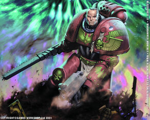 Leonatos Bloodquest Angeles Sangrientos wikihammer 40k