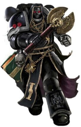 Marines deathwatch capellan crozius