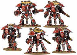Mini caballeros imperiales hermandad de hierro