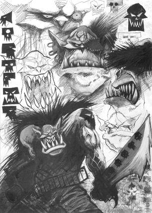 Orkos Gorkamorka por Wayne England