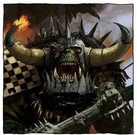 Orkos klan goff kaudillo drogg