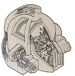 Sentidos Automaticos Casco Servoarmadura Wikihammer