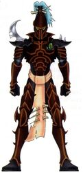Eldar oscuro guerrero cabala rosa obsidiana