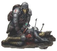 Krieg Korps Médico Guardia Imperial Warhammer 40k Wikihammer