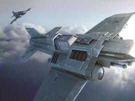 Thunderbolt caza avión Imperio