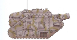 Thunderer Siege Tank Palladius 2nd Armoured Regiment
