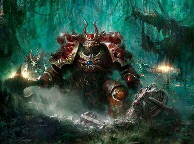 Caos mundo jungla masacre carmesí