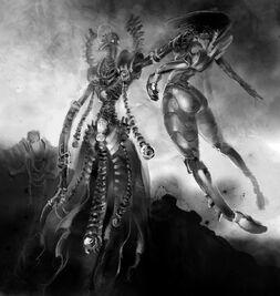 Lider Necrones Espectro Aullante Eldar Wikihammer