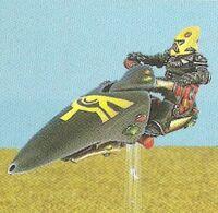 Motocicleta a Reacción Eldars 1ª Edición miniatura