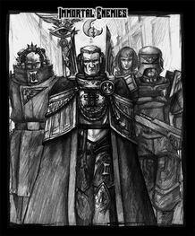 Arbitrador Psiquico Imperial Inquisidor Luminarus Hermana de Batalla Inmortal Enemies Adeptus Arbites Wikihammer