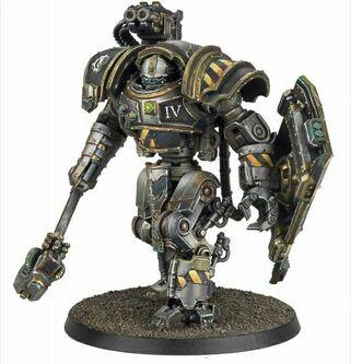 Robot Círculo de Hierro Legión Guerreros de Hierro