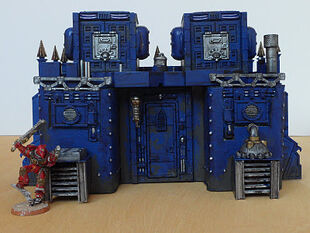 Bateria Imperial 54 Wikihammer 40K