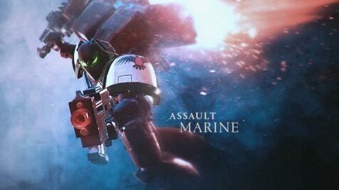 Marine de asalto dawn of war 3